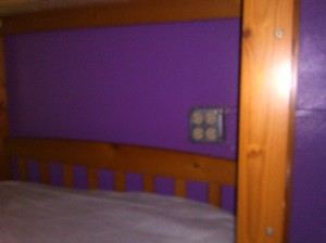 Electrical sockets by beds side